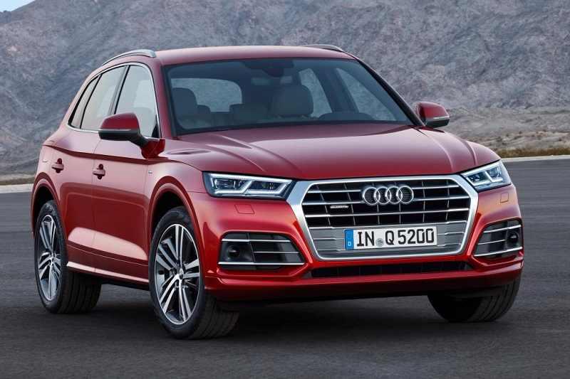 2017 Audi Q5 Front View