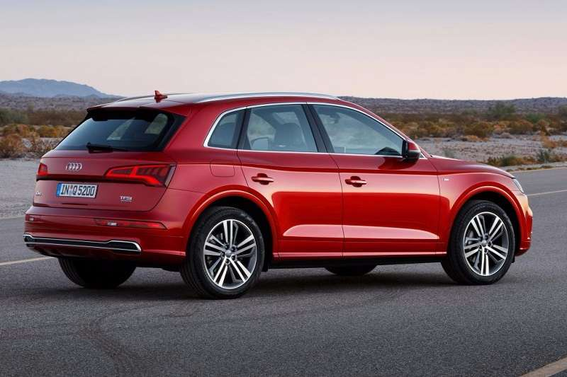 2017 Audi Q5 Rear three quarter