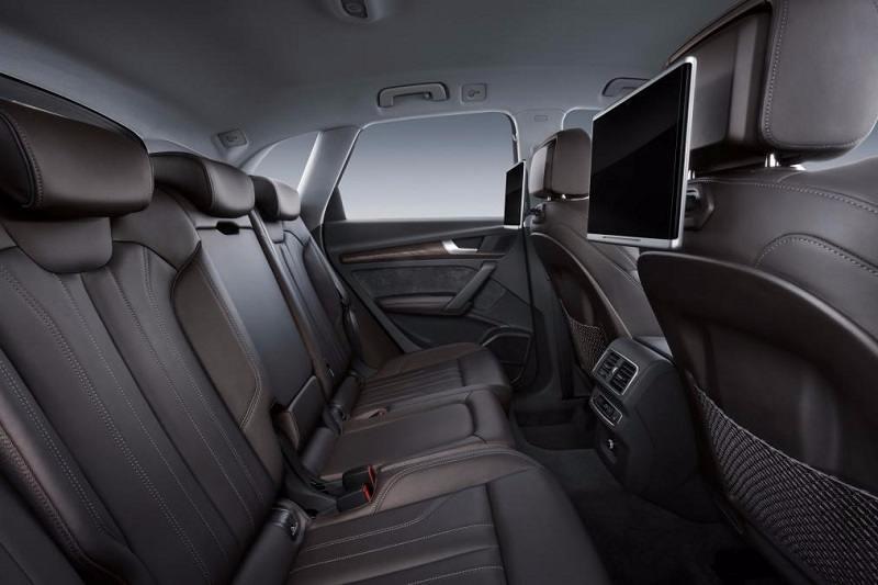 2017 Audi Q5 Rear Infotainment System