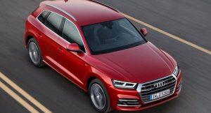 2017 Audi Q5 Top View