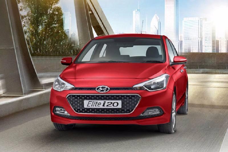 2017 Hyundai Elite i20 front