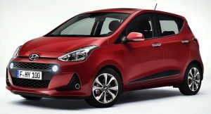 2017 Hyundai Grand i10 Facelift front side