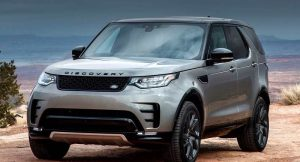 2017 Land Rover Discovery India front