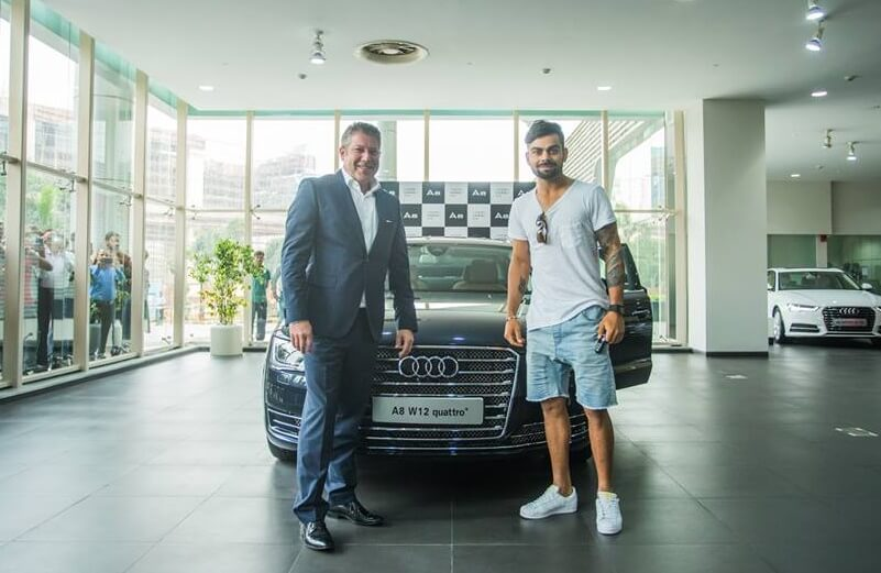 Virat Kohli Car Collection Pictures