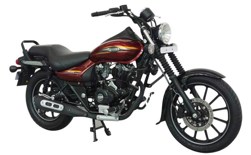 Bajaj Avenger Street 150 Cosmic Red front side