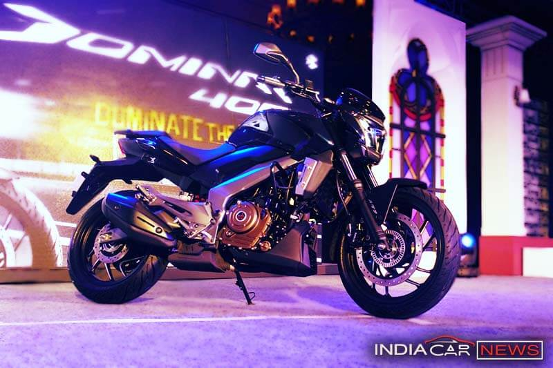 Bajaj Dominar 400 Side