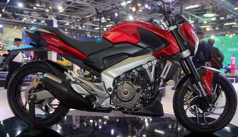 Bajaj Pulsar VS400 side profile