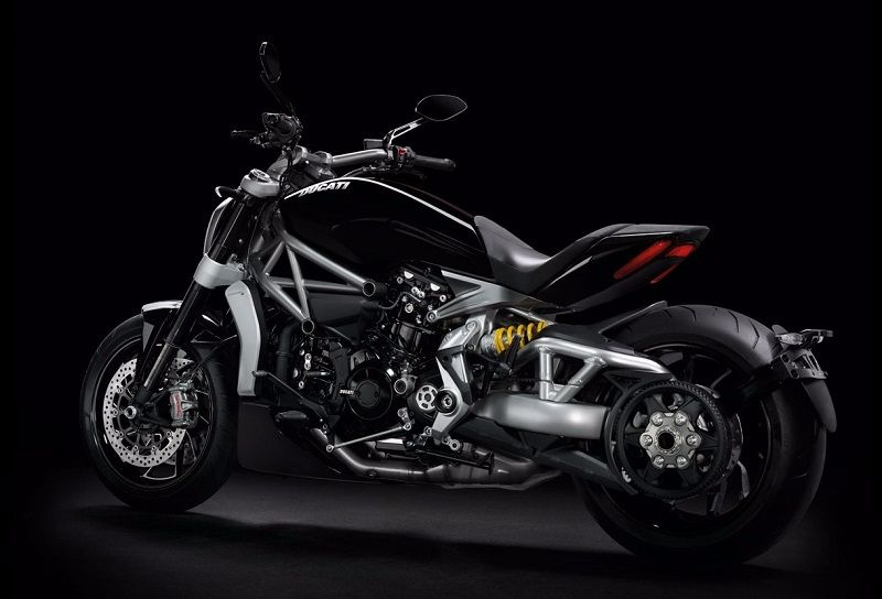 Ducati XDiavel India side view