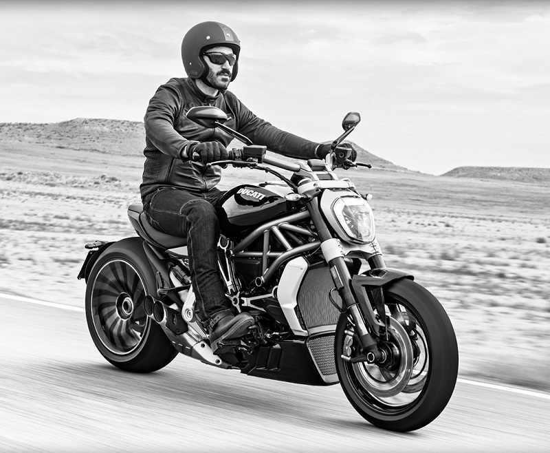 Ducati XDiavel S India riding