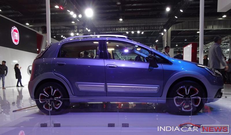 Fiat Urban Cross side profile