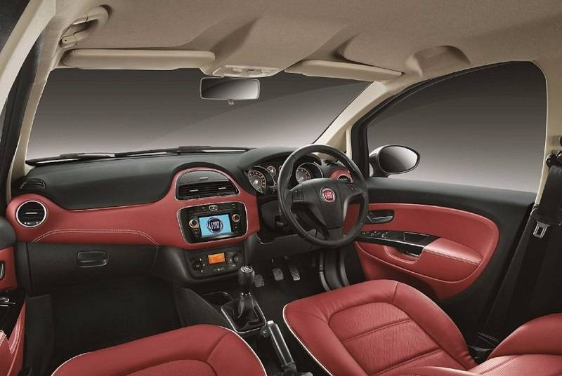 Fiat Urban Cross Interior