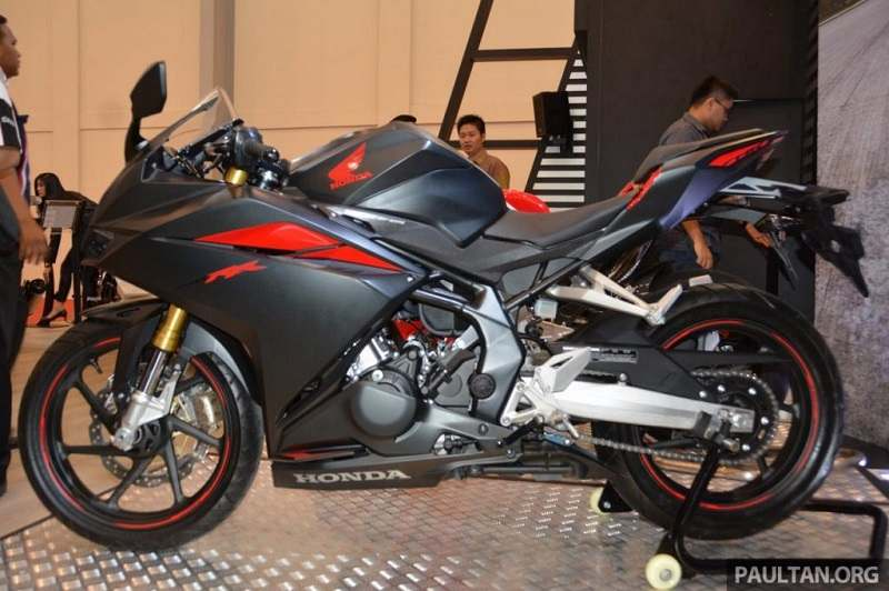 Honda CBR250RR side profile