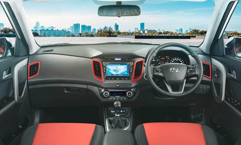 Hyundai Creta Anniversary Edition interior