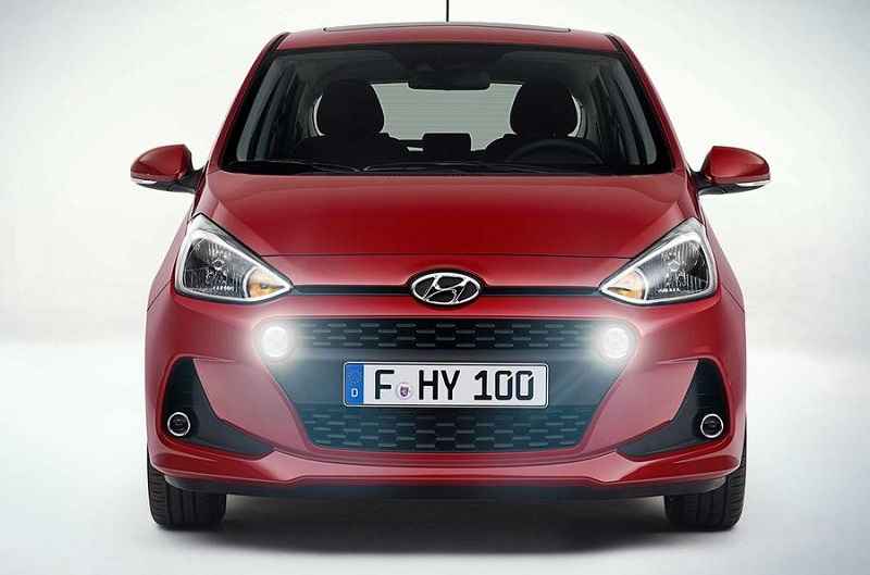 Hyundai Grand i10 Facelift Front