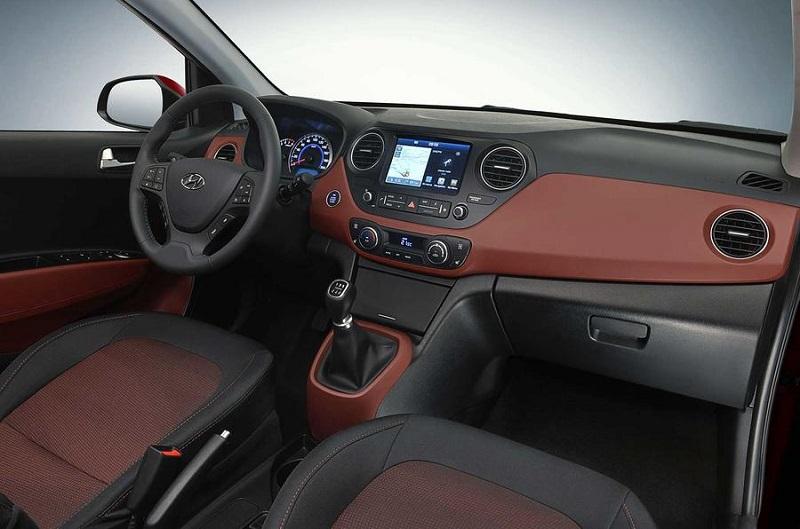 Hyundai Grand i10 Facelift interior Europe