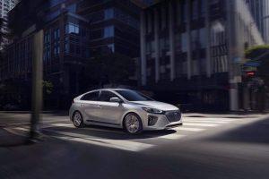 Hyundai Ioniq white color