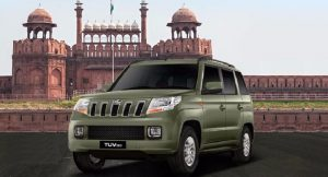 Mahindra TUV300 Bronze Green Color