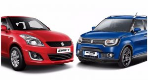 Maruti Ignis Vs Maruti Swift