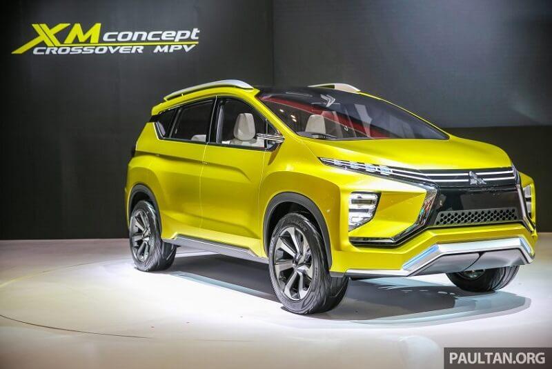 Mitsubishi XM crossover MPV concept