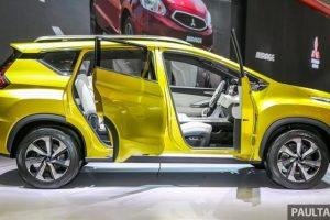 Mitsubishi XM concept side view