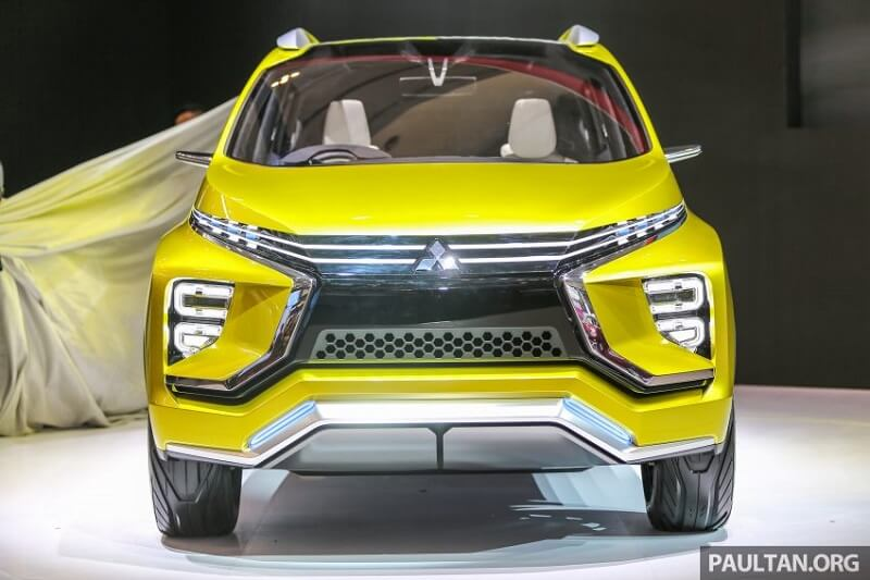 Mitsubishi XM concept front