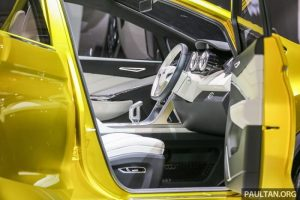 Mitsubishi XM concept interior
