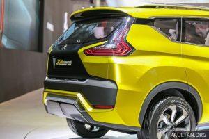 Mitsubishi XM concept rear