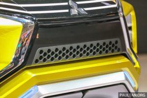 Mitsubishi XM concept front grille