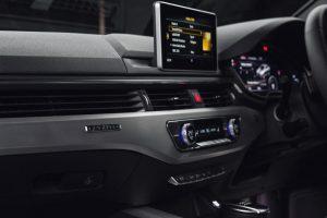 New Audi A4 Centre Console