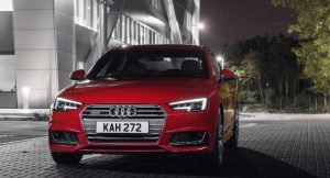 New Audi A4 Front