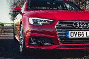 New Audi A4 Headlamps