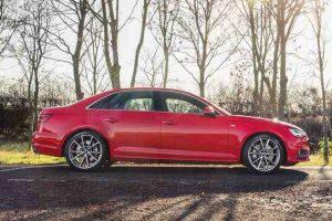 New Audi A4 Side