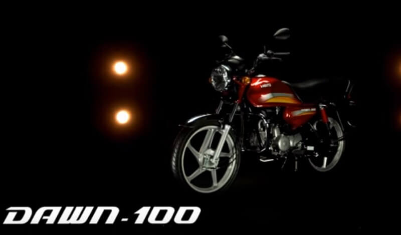 New Hero Dawn 100 bike