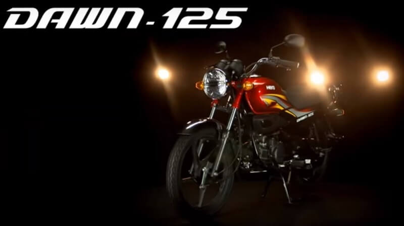 New Hero Dawn 125 bike