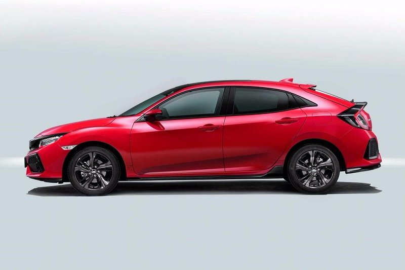 New Honda Civic Hatchback Side