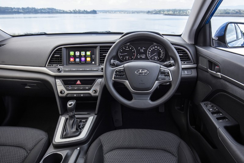 New Hyundai Elantra Interiors