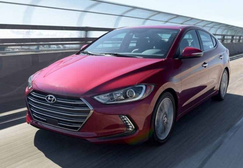 New Hyundai Elantra front