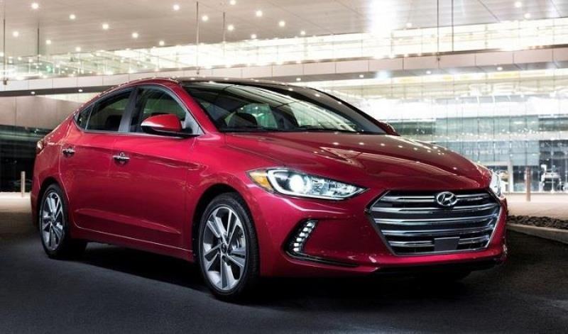 New Hyundai Elantra grille