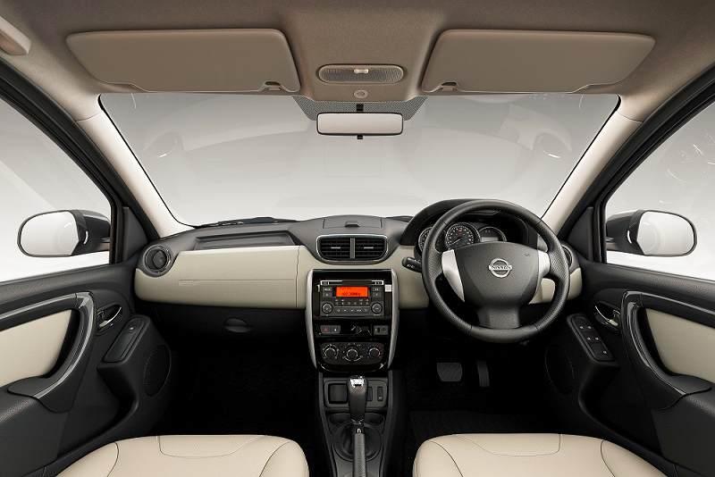Nissan Terrano AMT dashboard design