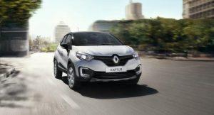 2017 Renault Captur Moving Shot