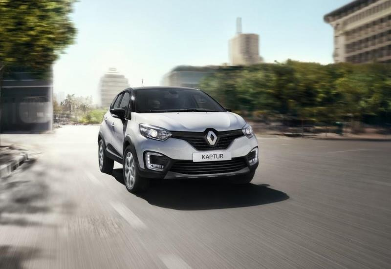 Renault Kaptur Moving Shot