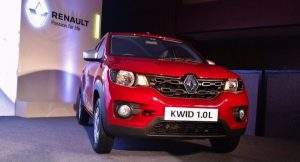 Renault Kwid 1.0L 1000cc front grille
