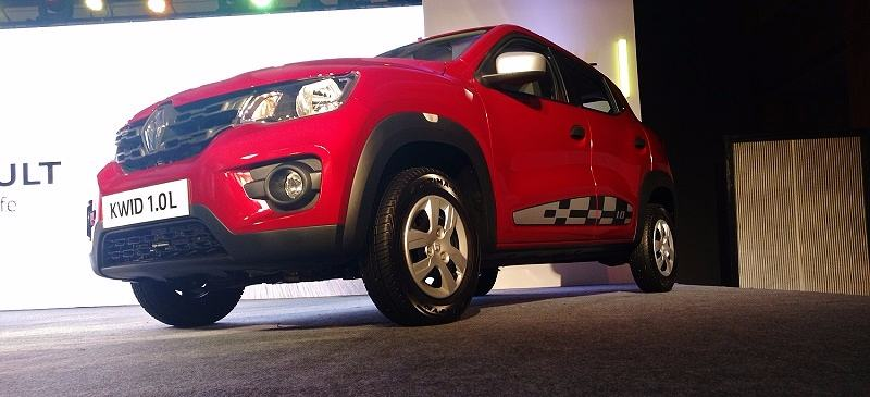 Renault Kwid 1.0L 1000cc front side