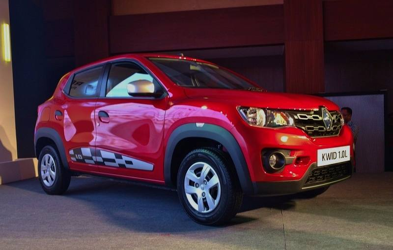 Renault Kwid 1.0L 1000cc side profile