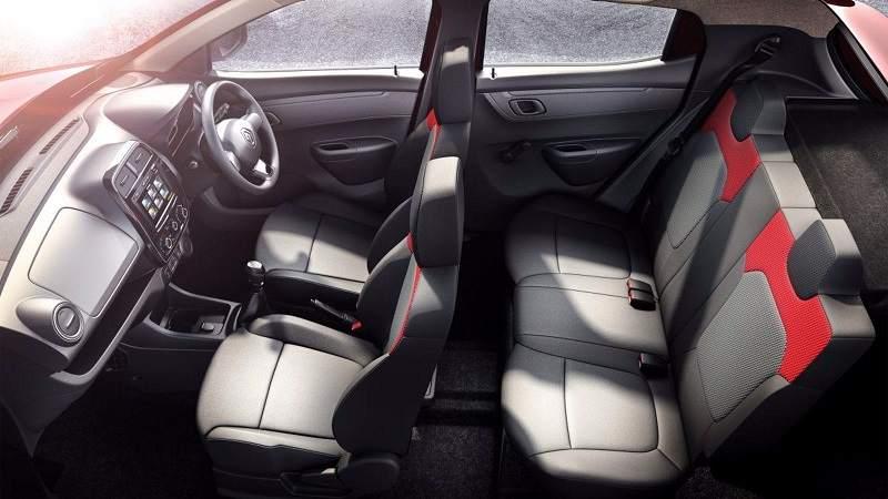 Renault Kwid 1.0L 1000cc interior