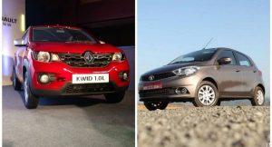 Renault Kwid 1000cc Vs Tata Tiago