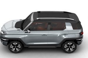 SsangYong XAV SUV top view