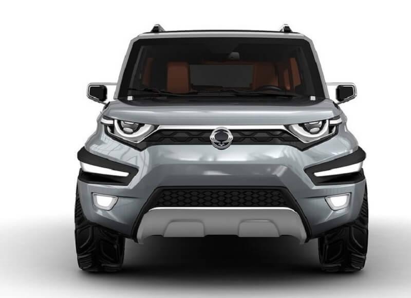 SsangYong XAV SUV front