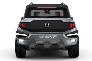 SsangYong XAV SUV rear