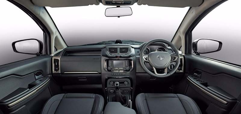 Tata Hexa 7 seater interior